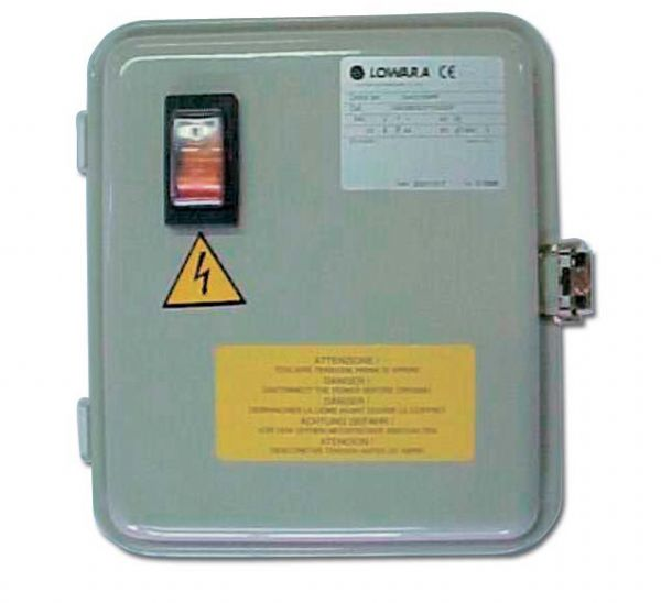 Lowara Control boxes for borehole pumps
